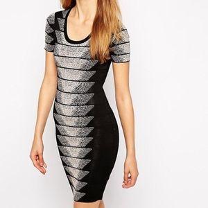 FRENCH CONNECTION Spotlight Fleck Jacquard Dress 2